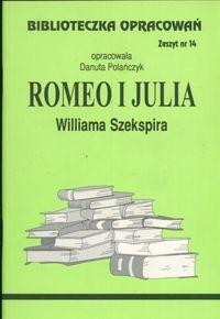 Okładka książki Romeo i Julia - opracowanie zeszyt 14