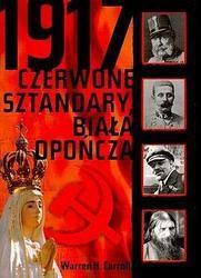 Okładka książki 1917 Czerwone sztandary biała opończa