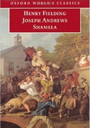 Okładka książki Joseph Andrews. Shamela