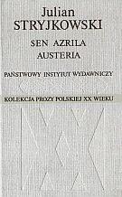 Okładka książki Sen Azrila. Austeria