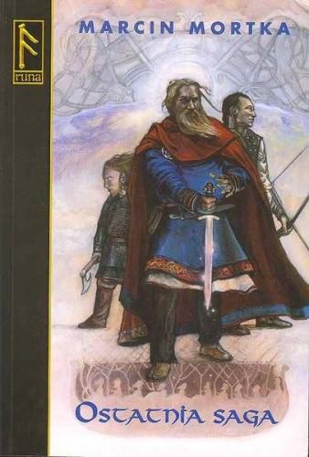 Okładka książki Ostatnia saga