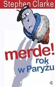 Okładka książki Merde! Rok w Paryżu