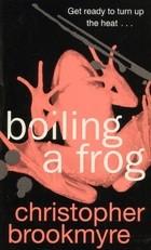 Okładka książki Boiling a frog