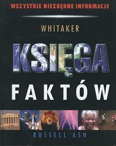 Okładka książki Księga faktów Whitaker/2 kolory okładek/