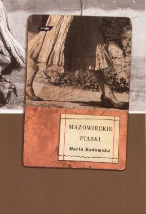 Okładka książki Mazowieckie piaski