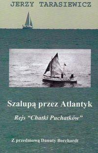 Okładka książki Szalupą przez Atlantyk