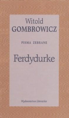 Okładka książki Ferdydurke. Pisma zebrane