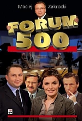 Okładka książki Forum 500