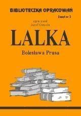 Okładka książki Lalka - opracowanie zeszyt 3