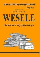 Okładka książki Wesele - opracowanie zeszyt 20