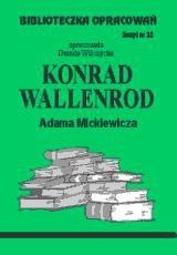 Okładka książki Konrad Wallenrod - opracowanie zeszyt 32