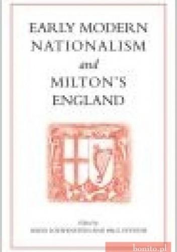 Okładka książki Early Modern Nationalism and Milton's England