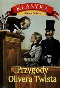 Okładka książki Przygody Olivera Twista