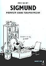 Okładka książki Sigmund. Pierwszy seans terapeutyczny
