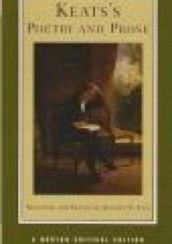 Okładka książki Keats's Poetry and Prose