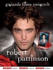 Okładka książki Robert Pattinson