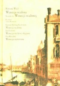 Okładka książki Wenecja ocalona. Tragedia w trzech aktach.
