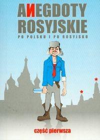 Okładka książki Anegdoty rosyjskie po polsku i po rosyjsku 1