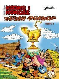 Okładka książki Kajko i Kokosz. Złoty puchar cz. 3
