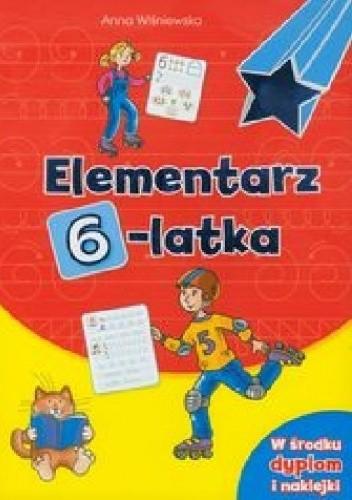 Okładka książki Elementarz 6-latka