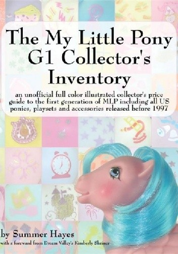 Okładka książki My Little Pony G1 Collector's Inventory