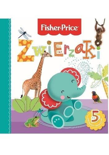 Okładka książki Zwierzaki. Fisher Price
