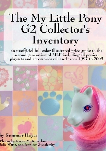 Okładka książki My Little Pony G2 Collector's Inventory