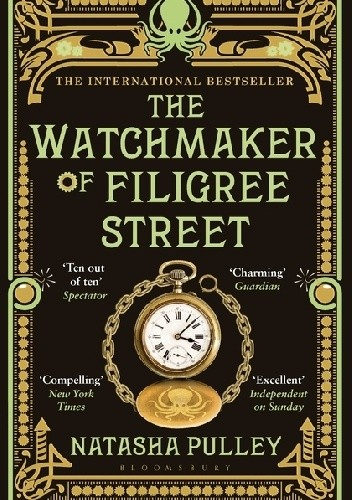 Okładka książki The Watchmaker of Filigree Street