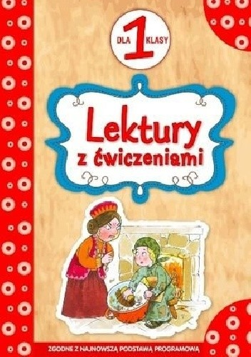 Okładka książki Lektury z ćwiczeniami dla 1 klasy