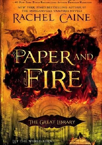 Okładka książki Paper and Fire