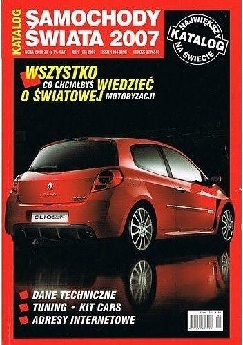 Okładka książki Samochody świata 2007