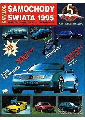 Okładka książki Samochody świata 1995