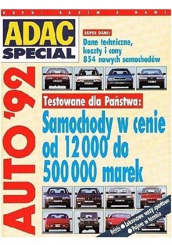 Okładka książki Auto '92.