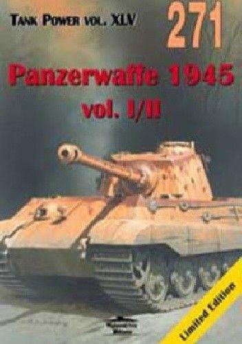 Okładka książki Panzerwaffe 1945