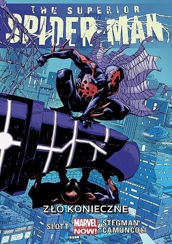 Okładka książki The Superior Spider-Man: Zło konieczne