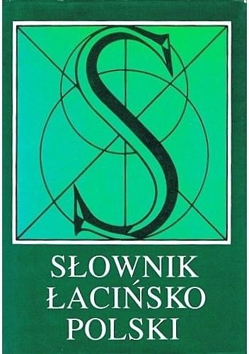 Okładka książki Słownik łacińsko-polski