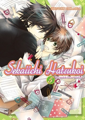 Okładka książki Sekaiichi Hatsukoi. Przypadek Ritsu Onodery 5