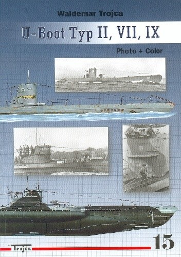 Okładka książki U-Boot Type II VII IX