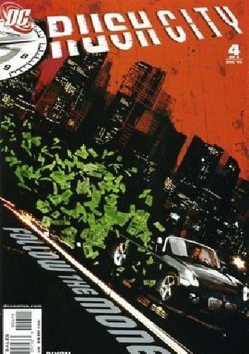 Okładka książki Rush City Vol 1 #4