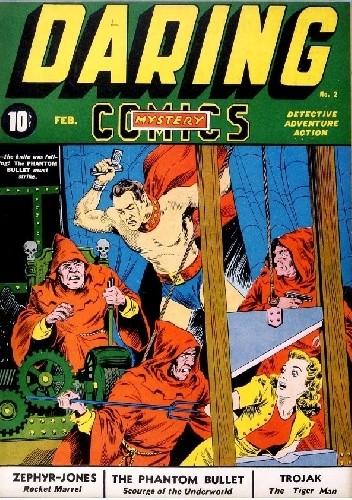 Okładka książki Daring Mystery Comics #2