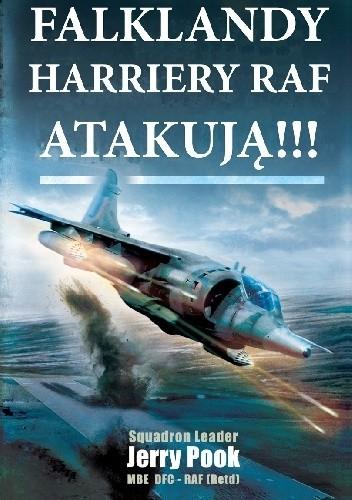 Okładka książki Falklandy. Harriery RAF atakują!