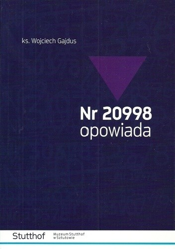 Okładka książki Nr 20998 opowiada