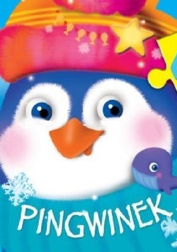 Okładka książki Pingwinek. 4 układanki