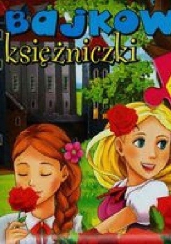 Okładka książki Bajkowe księżniczki. 4 układanki