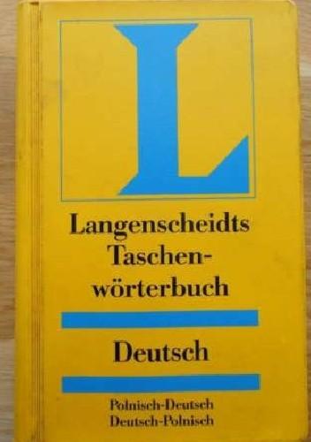 Okładka książki Kieszonkowy słownik polsko-niemiecki i niemiecko-polski