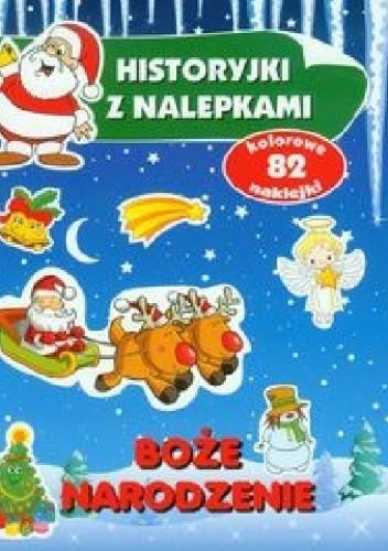 Okładka książki Boże Narodzenie. Historyjki z nalepkami
