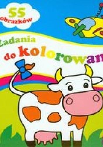 Okładka książki Zadania do kolorowania 2+