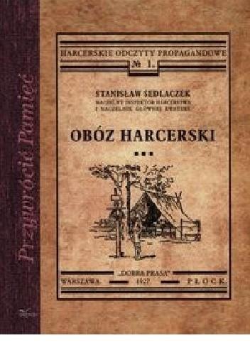 Okładka książki Obóz harcerski