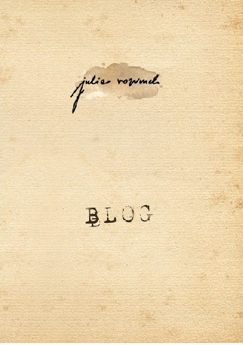 Okładka książki Blog