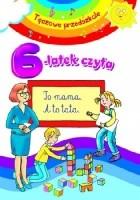 6-latek czyta. Tęczowe przedszkole